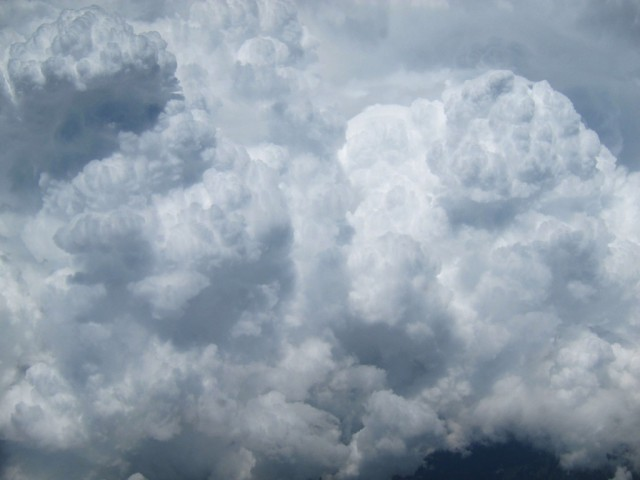 Clouds, seen from above. © The Author, 2015.